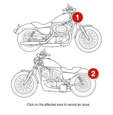 Superservice Triage Motorcycle Check Sheet