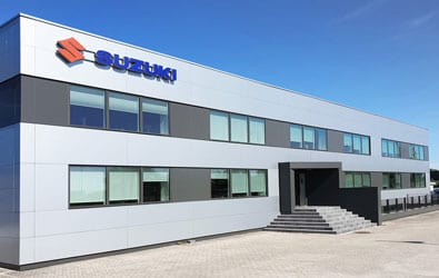 Superservices Menus delivers a rich solution for Suzuki Denmark and their dealers